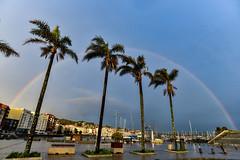 Galifornia Dreams (Iago López Losada) Tags: galicia sanxenxo pontevedra clouds arcoiris