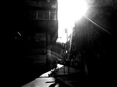Santiago de Chile (Alejandro Bonilla) Tags: santiago chile street city urban bw blackandwhite monocromatico monocromo