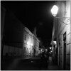 Night Walk (Koprek) Tags: rolleiflex28f ilfordhp5 1600 film medium streetphotography nightlight low light croatia february 2018