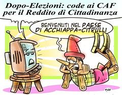 """PinocchioCAF (Moise-Creativo Galattico) Tags: editoriali moise moiseditoriali """"editorialiafumetti"""" giornalismo attualità satira vignette m5s caf redditodicittadinanza collodi pinocchio"""