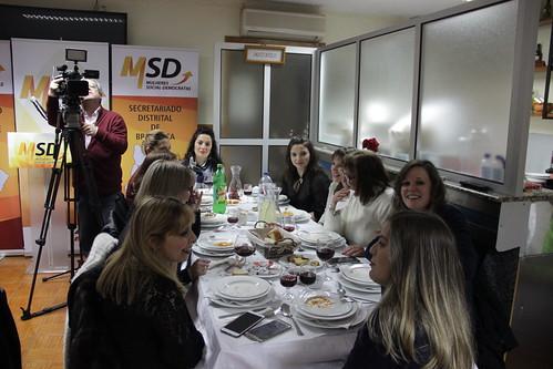 Jantar de mulheres social-democratas