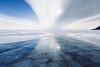 Lake Baikal - Olkhon island (dataichi) Tags: ольхон 貝加爾湖 байкал 바이칼호 lake baikal siberia russia winter cold destination travel tourism nature landscape olkhon ice frozen blue clouds