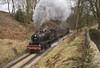53808 approaching Haworth 11/03/2018 (TomNoble7) Tags: sdjr 7f 53808 kwvr keighley haworth steam gala worth valley railway
