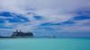 Setting Sail (Ennev) Tags: celebritycruises celebritysilhouette cloud clouds cruise cruiseships mountain ocean sailboat saintmartin sea sintmaarten sky water philipsburg sx