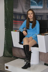 cartoomics 2018 (themax2) Tags: 2018 cartoomics cosplay girl milano miniskirt nylon rho star trek startrek