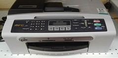 Brother MFC Fax scanner copier (Jacques Trempe 3,210K hits - Merci-Thanks) Tags: vintage electronic fax scanner copier brother