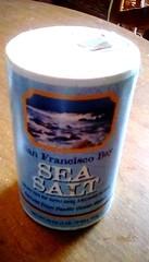 Sea salt! 365/131 (Maenette1) Tags: sea salt box table menominee uppermichigan flicker365 michiganfavorites project365