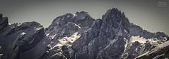 Dos torres /Two towers (Jose Antonio. 62) Tags: spain españa picosdeeuropa mountains montañas snow nieve naturaleza nature