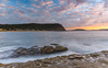 Sunrise Seascape with Clouds and Rock Platform (Merrillie) Tags: daybreak sunrise nature dawn rocky centralcoast morning sea newsouthwales rocks pearlbeach nsw water waterscape ocean earlymorning landscape cloudy coastal clouds outdoors seascape australia coast sky waves