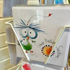Strange Bird (Julie (thanks for 9 million views)) Tags: 2018onephotoeachday squareformat hww wingwednesday heom birthdaycard iphonese kilkenny