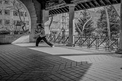 Martial Artist, Columbus Park (1 of 1) (J MERMEL) Tags: chinatown genres geography nyc parksgardens people portraits views martial arts