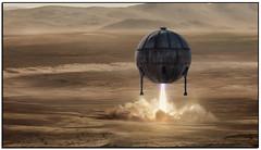 AcidBallMeetsElonMusk (tellytomtelly) Tags: acidball elonmusk mars redplanet rocket portofbellingham bellingham gp pulpmill spacex