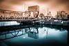 Klaffbron (Maria Eklind) Tags: beijerskajen dock winter nature reflection spegling sweden outdoor water architecture malmö ice skånelän sverige se