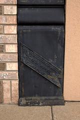 Benton, IL Plaque 02 (Christopher Elliot Taylor) Tags: 1052 plaque sign architecture marker outdoors canont1i affinityphoto travel tourism