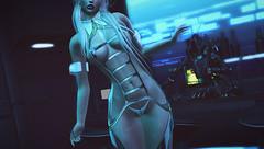 Working Girl (riowyn.slife) Tags: insilico secondlife sl roleplay cyberpunk scifi r2 r2fashion collabor88 otome