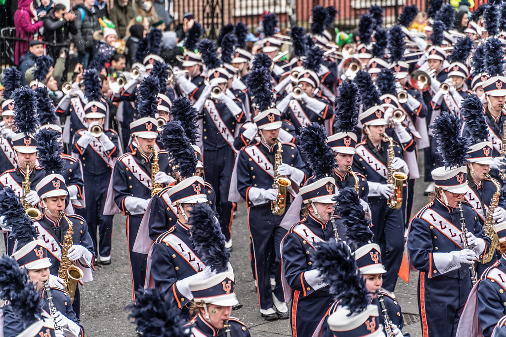 DUBLIN SAINT PATRICKS PARADE 2018 [THE MARCHING ILLINI]-137402