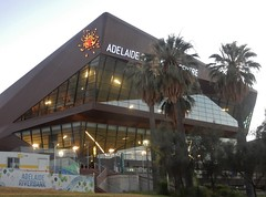New Convention Centre (mikecogh) Tags: adelaide conventioncentre architecture contemporary glass windows logo