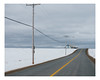 hébertville (Mériol Lehmann) Tags: road winter cloudy shed landscape hangar rural poles snow hébertville québec canada