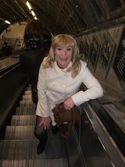 Heading For The Tube (rachel cole 121) Tags: tv transvestite transgendered tgirl crossdresser cd