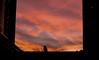 Sunset in Israel (netanelyehezkel) Tags: tlv sarona sunset israel orange pink man silhouette buildings black 2018 telaviv