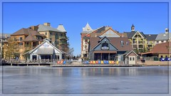 Collingwood, Blue Mountain Resort (Note-ables by Lynn) Tags: bluemountainsskiresort collingwood winter blueskies