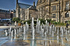 Peace Gardens Fountains (Bri_J) Tags: sheffield southyorkshire uk city yorkshire nikon d7200 peacegardens fountains building hdr