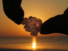 Beautiful chemistry (Onlyshilpi) Tags: salt crystal bhuj dholavira backlit sunset gujarat silhouette