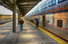 Quiet Morning (TCeMedia/Telecide) Tags: amtrak uniondepot stpaul minnesota mn train