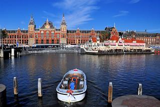 Amsterdam Centraal Station, Netherlands