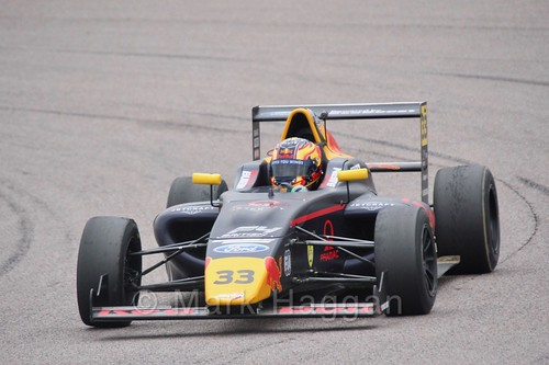 Jack Doohan in British F4 pre-season testing 2018
