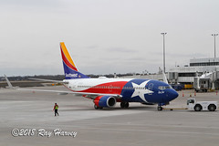 Lone Star One at Rochester (320-ROC) Tags: southwestairlines southwest n931wn lonestarone boeing737 boeing737700 boeing7377h4 boeing 737 737700 7377h4 b737 kroc roc rochestermonroecountyinternationalairport rochestermonroecountyairport rochesterairport rochester newyorkstate