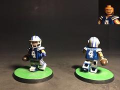 QB of the Dallas Cowboys, Dak Prescott (TheBrickBrewer) Tags: cowboys boy cow dallas legos customs painted paint prescott dak football custom lego