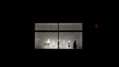 И O I Ƨ I V (Panda1339) Tags: 28mm leicaq summiluxq london ldn hm streetphotography man shopwindow silhouette oxfordcircus