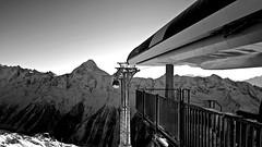 Lauchernalp station (Matt_étranger) Tags: mountain montagna panoramic landscape nature snow powder pow neve schnee lauchernalp swiss alps svizzere alpi wild wile lotschental cielo azzurro blue sky