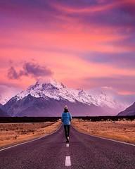 🌍Mount Cook, New Zealand |  Rach Stewart Photography (adventurouslife4us) Tags: adventure wanderlust trip hike hiking travel explore outdoors backpacking nature photography road new zealand mount cook