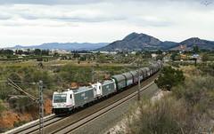 Montesa (lagunadani) Tags: montesa 253 renfe bobinero doble mercancias locomotora bombardier traxx tren ferrocarril