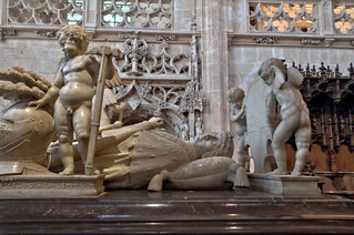 The tomb of Duke of Savoy Philibert le Beau