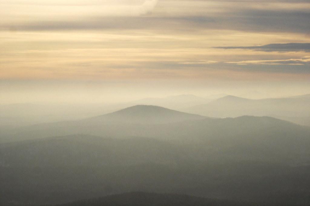 фото: Вид на хребты Южного Урала
