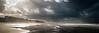 Ostende (Christophe Rusak) Tags: belgique ostende borddemer vague mer manche immeuble building plage sable nuage dramatique soleil longueexposition