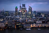 Pre-Dawn London (OwenLloyd) Tags: cityscape hotel lensskirt london night shard urban window