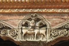 Bois sculptés à Bhaktapur (Népal) (michele 69600) Tags: architecture bhaktapur népal asie asia