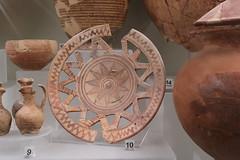 700 BC Vulci brooch - Rome Spring 2018 National Etruscan Museum at the Villa Julia. (Kevin J. Norman) Tags: italy rome etruscan villa julia giulia etrusca juliusiii vulci brooch