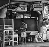 Cafe (Beegee49) Tags: street food restaurant selling buying oysters man customer bacolod city philippines