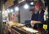 Nishiki market..Kyoto (geolis06) Tags: geolis06 asia asie japan japon 日本 2017 kyoto nishikimarket olympuspenf olympusm1240mmf28 seller vendeur street rue streetseller market marché