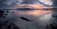 Portonovo (jojesari) Tags: ar11718g 318 portonovo sanxenxo pontevedra galicia jojesari suso panoramica detresfotos horizontales cameraraw sunset atardecer puestadesol ocaso paisaje landscape
