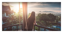 Wild sunrise (Alex E. Milkis) Tags: huahin chaam thailand phetchaburi jungle sunrise morning rays fade wide beautiful colors pool hotel vacation explore wild national d810 2470 postprocess imagine travel best