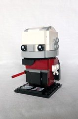 Darth Malak (instructions coming soon) (tomvanhaelen) Tags: lego star wars custom brickheadz moc darth malak old republic sith