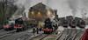 Haworth Shed, Keighley & Worth Valley Railway (Grumpy Bear 275) Tags: kwvr spring steam gala haworth shed coal tank 1054 7mt 70013 oliver cromwell s160 5820 big jim 4f 43924 4mt 75078 black5 44871