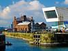 Dock area (tubblesnap) Tags: liverpool merseyside albert dock docks mersey museum