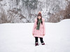 P1000468 (Mickey Huang) Tags: panasonic gx7 mk2 gx80 gx85 lumix g 425mm f17 m43 mft shirakawago gifu japan 白川鄉 岐阜県 日本 travel 旅行 snow girl bokeh